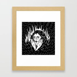 Lauren Jauregui Framed Art Print
