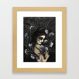 Flowering self Framed Art Print