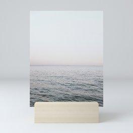 Salty sea Mini Art Print