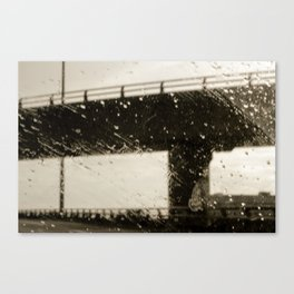 Rain City Canvas Print