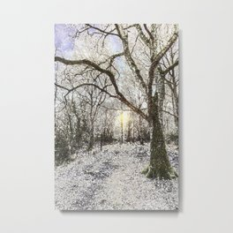 The Snow Forest Art Metal Print