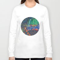 wine Long Sleeve T-shirts featuring Wine Glass by Juliana Kroscen