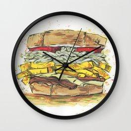 The Sammie of Primanti Wall Clock