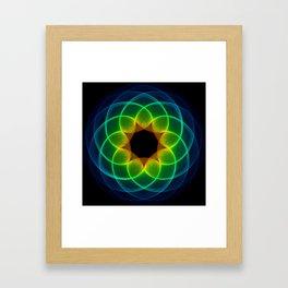 Spirotechnic 3 Framed Art Print