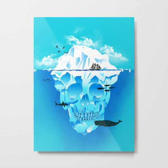 Cold Cruisings and Icy Endings Metal Print