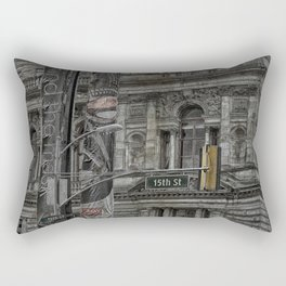 Fifteenth Street  Glasgow  Rectangular Pillow