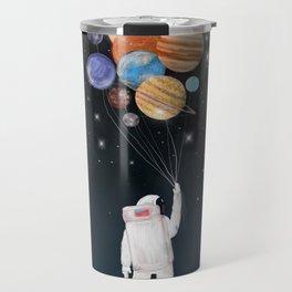 balloon universe Travel Mug