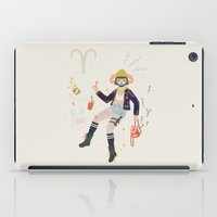 aries iPad Cases featuring Aries by LordofMasks