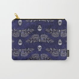Deathshead Moth and Skulls Carry-All Pouch