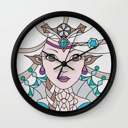 Pixie Princess - Crystal version - Ice Princess Wall Clock