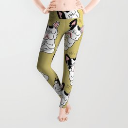 Namaste French Bulldog Leggings