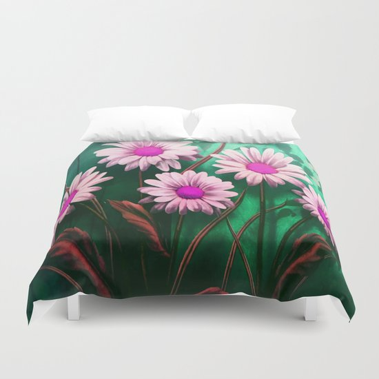 Mythical SunFlowers Duvet Cover