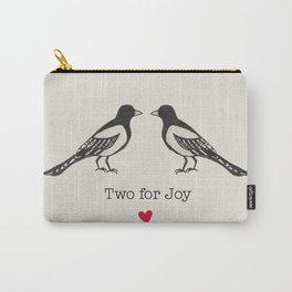 Two for joy  Carry-All Pouch