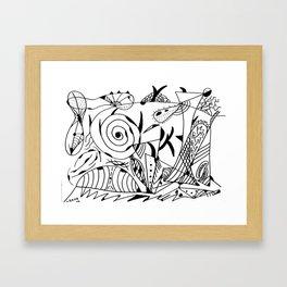 Abstract 17 Framed Art Print