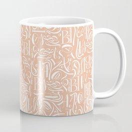 Fancy calligraphy Coffee Mug