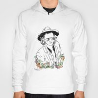 harry styles Hoodies featuring Harry Styles by Mariam Tronchoni