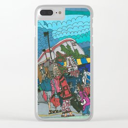 Midway Magic - The Calgary Stampede Clear iPhone Case