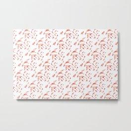 Suriani Pattern Metal Print