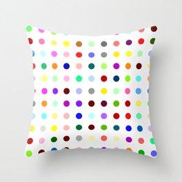 Hydroxizyne Throw Pillow