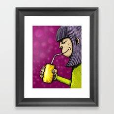 Lemonade 3/3 Framed Art Print