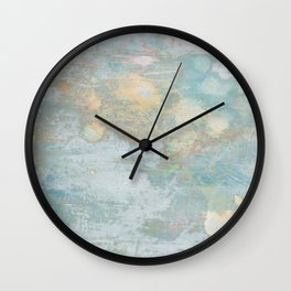 Distressed paint 1 Wall Clock