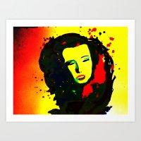 Norma Jean Art Print