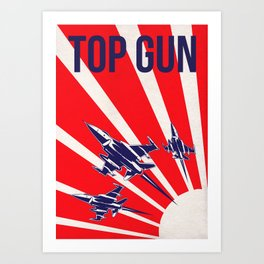 Top Gun Alternative Poster Variant #2 Art Print
