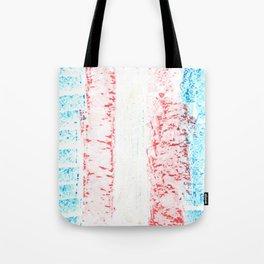 transgender stripes 02 Tote Bag
