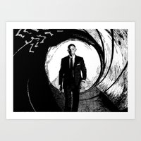 skyfall Art Prints featuring Skyfall by Rik Reimert