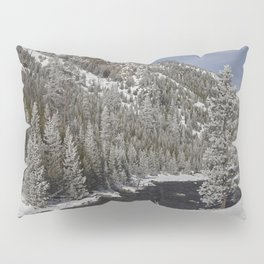 Carol Highsmith - Snow Covered Conifers Pillow Sham