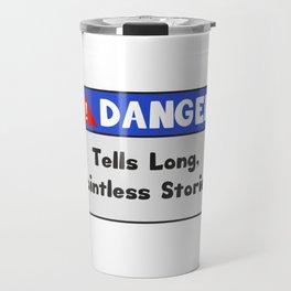 Funny Pointless T-Shirt Design Pointless stories Travel Mug