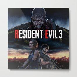 Resident Evil 3 Metal Print