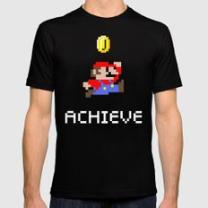 Mario MEDIUM Mens Fitted Tee Black