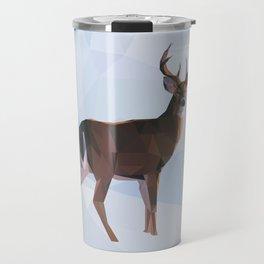 Reindeer in a winterwonderland Travel Mug