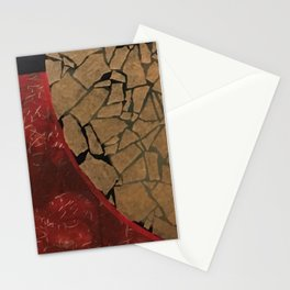 quarter earth Stationery Cards