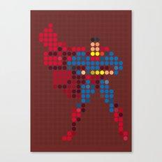 Mr Super Canvas Print