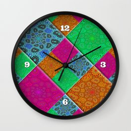 Patchworx Wall Clock