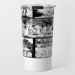 WHITE - A nne Frankenstein Book I - Resurrection Travel Mug