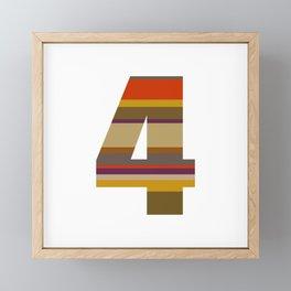 4 Who? Framed Mini Art Print