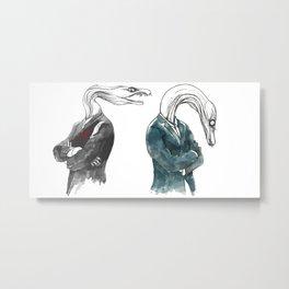 Eels Metal Print