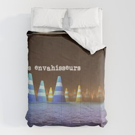 Gang de Cônes - Les Envahisseurs Comforters