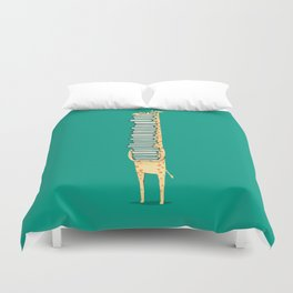 A book lover Duvet Cover