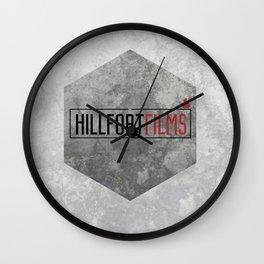 Hillfort Films goes Hexagon Wall Clock