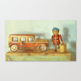 Vintge Toys Canvas Print