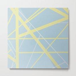 'Crossroads No.2' Acrylic on Canvas Metal Print