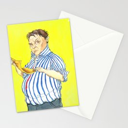Peter Marsh Come Dine With Me Portrait Stationery Cards