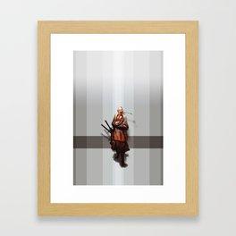Samurai Ojiisama Framed Art Print