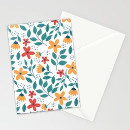 Beautiful Flowers Stationery Cards