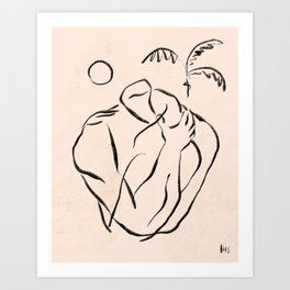 Summer Lines XIII Art Print