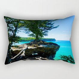 Chapel Rocks Tree Rectangular Pillow